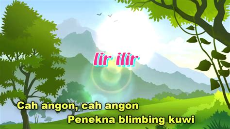 download mp3 gratis lir ilir lagu daerah jawa tengah lir ilir karaoke youtube