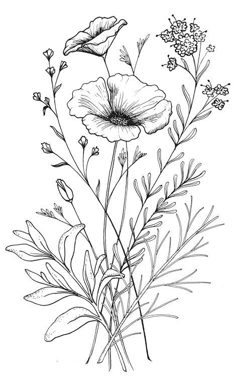 Custom Flower custom ca wildflower design from umbrella