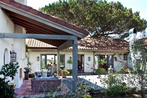 southwestern home southwestern home and vineyard with spanish influences