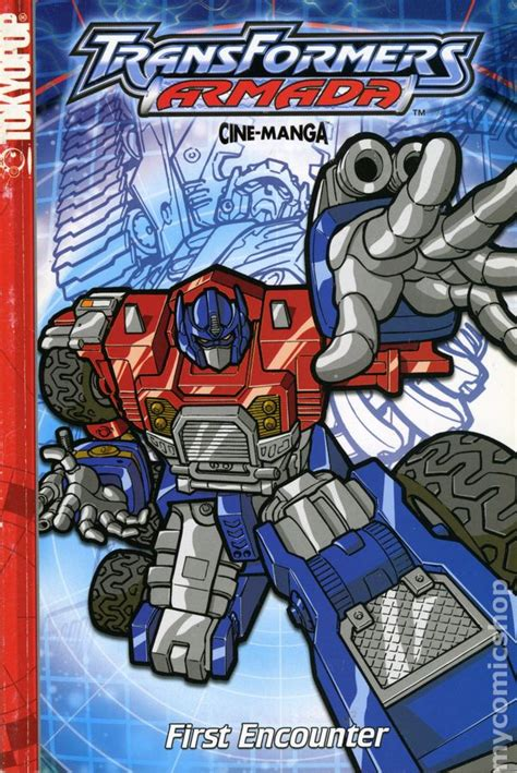 transformers armada transformers armada comic books issue 1
