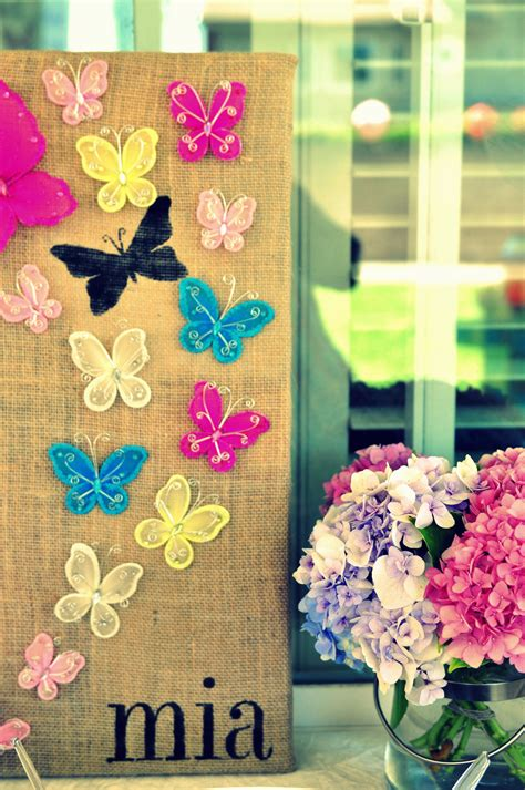 table decoration ideas summer party butterflies paper diy summer birthday party decorations diy inspired