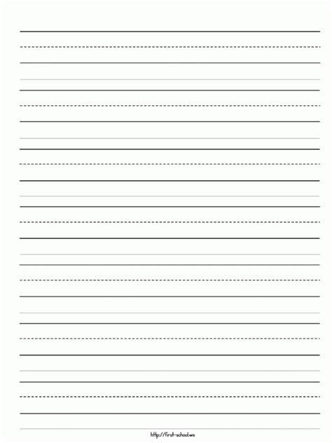 sle of kindergarten writing blank writing template exle mughals
