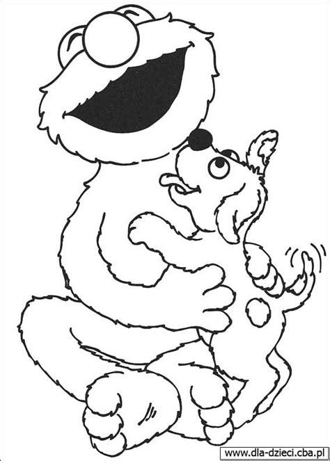 e for elmo coloring page kolorowanki dla dzieci malowanki bajki i piosenki świat elmo