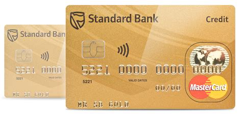 Credit Card Template Gold Gold Credit Card Standard Bank South Africa