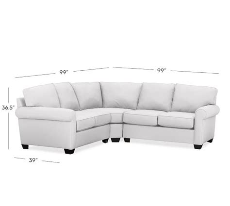 curved wedge sectional sofa buchanan roll arm upholstered curved 3 l shaped