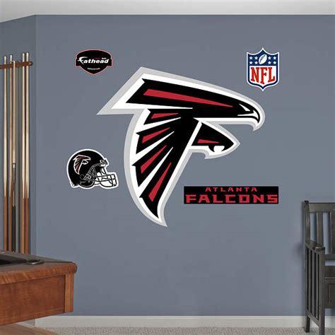 atlanta falcons home decor atlanta falcons logo wall decal shop fathead 174 for