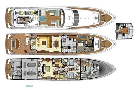 luxury yacht floor plans carte blanche layout trinity yachts motor