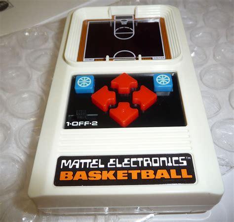 mattel console console mattel electronics basketball 1978 new sealed