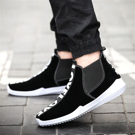 2016 new tide boots korean fashion personality casual