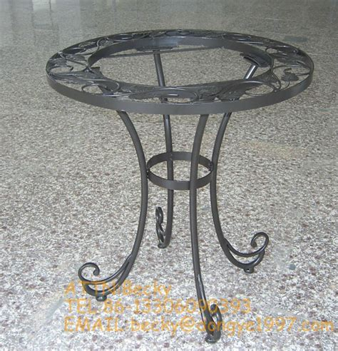 wrought iron coffee table legs view metal coffee