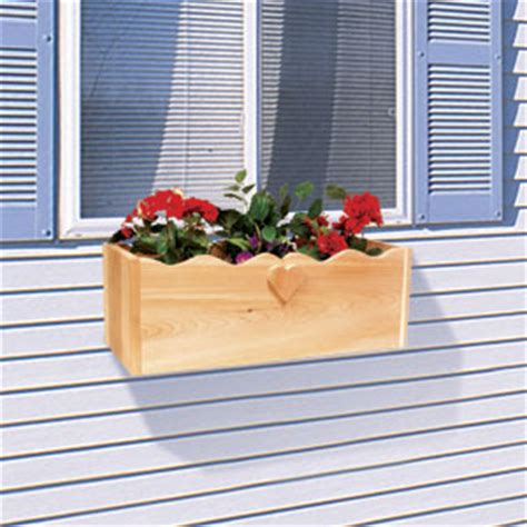 Window Ledge Planter by Sherwood Creations Window Sill Railing Planter Article