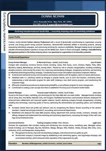 marketing resume template to easily improve your resumes