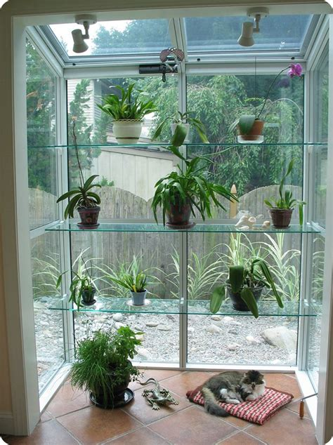 Bay Window Garden Ideas 25 Best Ideas About Greenhouse Kitchen On Style Greenhouses Style