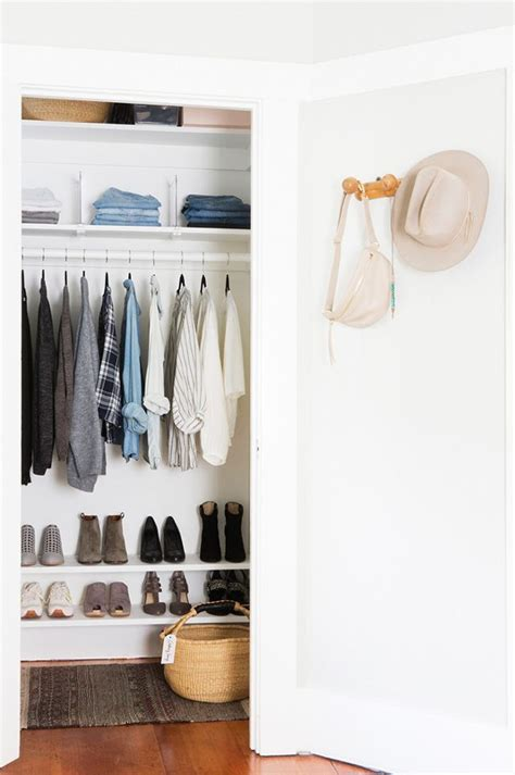 small closet organization tips small reach in closet organization ideas the happy housie