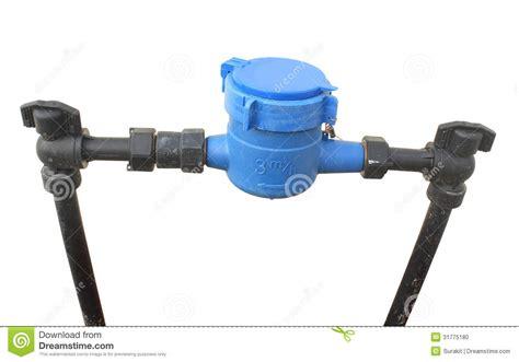 water meter stock photo image 31775180