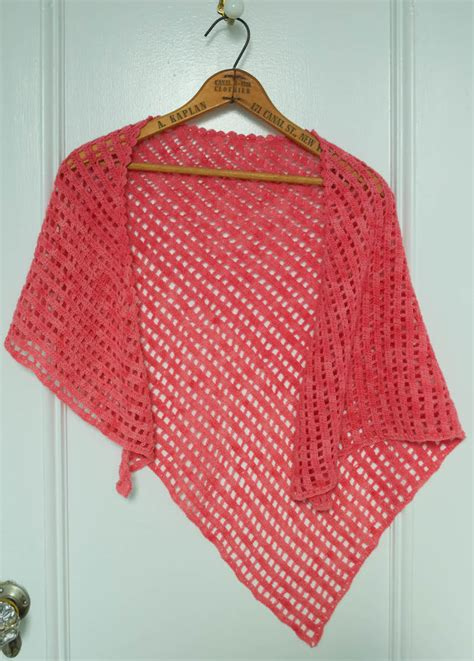 free pattern easy crochet triangle shawl 1000 images about triangle shawls on pinterest shawl