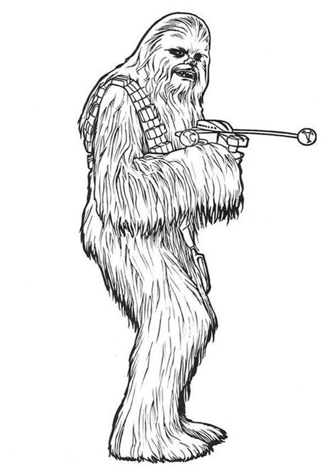 Chewbacca Coloring Pages chewbacca coloring pages selfcoloringpages
