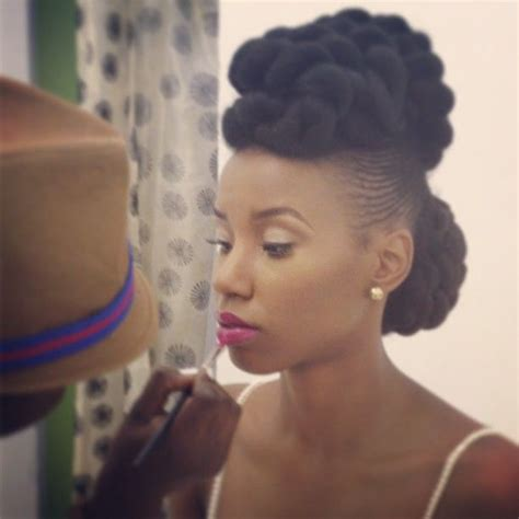 itching african bun hairstyles 242 best ideas about afro puff on pinterest protective