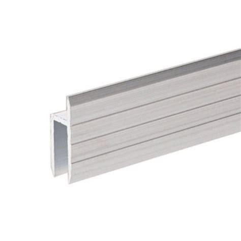 adam profil 233 aluminium en h pour portes de service