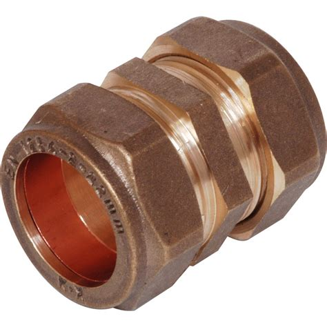 Plumbing Coupler by Compression Coupler 22mm Toolstation
