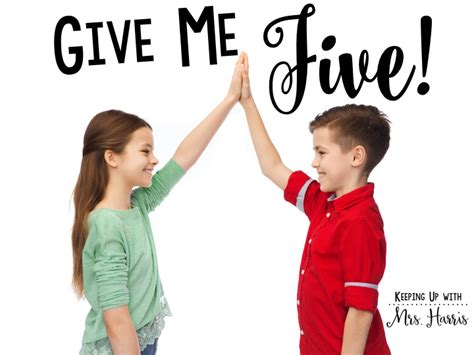 Give Me 5 The House Give Me Five Keeping Up With Mrs Harris