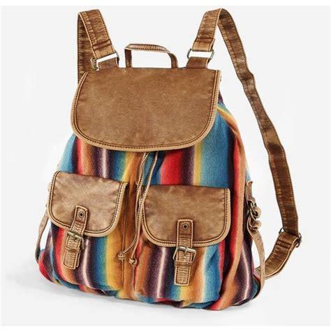 Backpack Blanket by Handbags T Shirt Mexican Blanket Stripe Backpack Bag