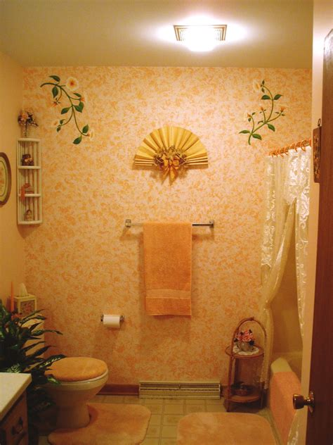 peach bathroom decor 100 peach colored bathroom wall murals bathrooms bathroom beach style