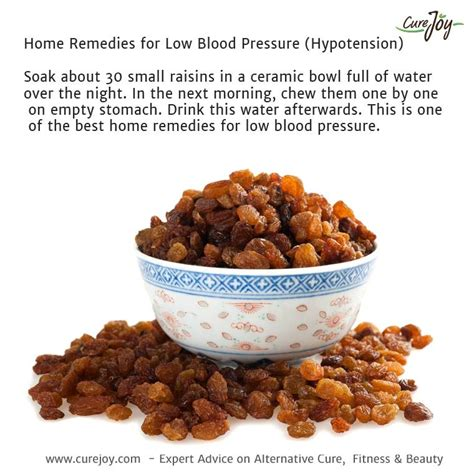 bananas and raisins home remedies help lower heart rate low blood pressure remedy