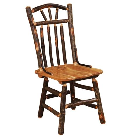hickory dining room chairs hickory wagon wheel dining chair the log furniture store