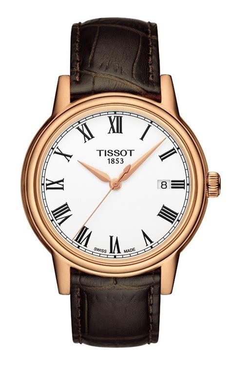 Tissot T0854102201100 Carson Quartz Silver Gold tissot tradition quartz chronograph t0636173603700