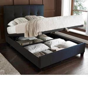 slate bed kaydian design walkworth 5ft kingsize ottoman bed slate