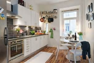 Small Kitchen Layout Ideas Hunky Design Ideas Of Small Apartment Kitchens With Wooden Floors Also Corner Table Set Plus