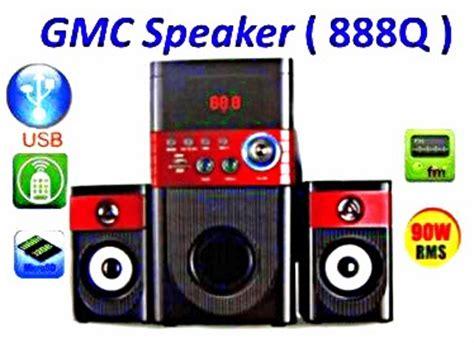 Speaker Gmc 888f kedai wahyu wooper speker 888q gmc