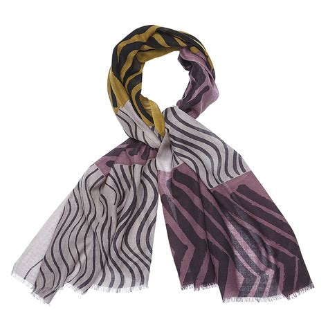 marimekko silkkikuikka gold mauve scarf marimekko