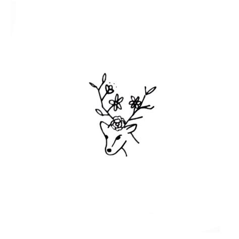 minimalist tattoo deer 142 best images about minimalist tattoos on pinterest