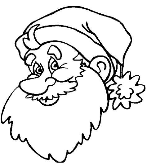 imagenes de santa claus para copiar dibujos para colorear de papa noel santa claus viejito
