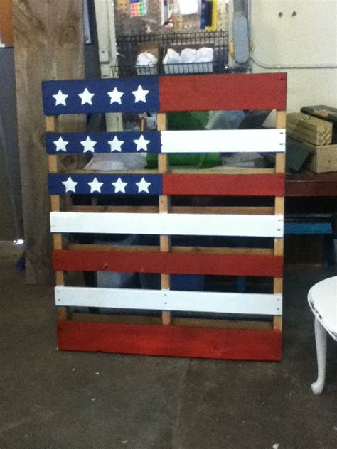 pallet american flag paint american flag painting