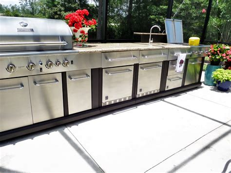 shop master forge 5 burner modular gas grill at lowes com outdoor grilling organization be my guest with denise