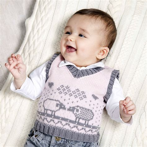 free pattern vest child vests for babies and children knitting patterns in the