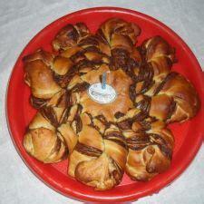 fiore di pan brioche soffice alla nutella fiore di pan brioche soffice alla nutella 3 8 5