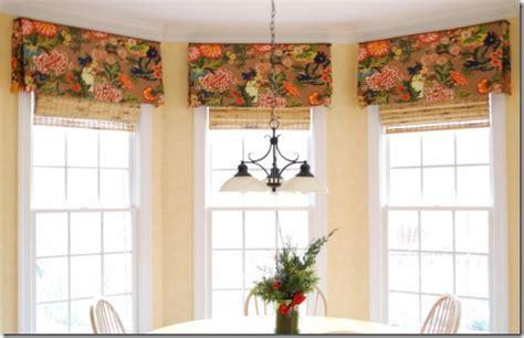 window valance ideas window treatment ideas for bay windows simplified bee