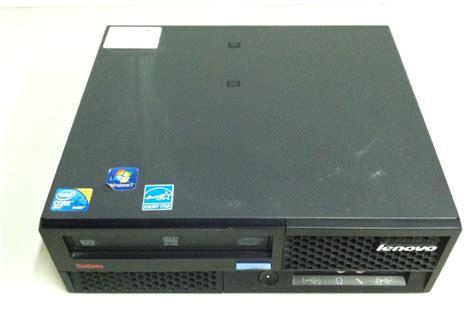 Cpu Bil Up Lenovo 2 Duo 3 0 Ddr 3 lenovo thinkcentre m58p sff intel 2 duo 3 0 ghz 4gb
