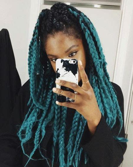 colored box braids on pinterest ombre box braids blonde kayabrigette hair pinterest hair style colored