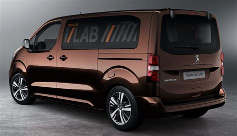 peugeot traveller i lab is a technology filled vip