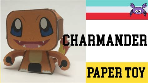 How To Make Paper Toys - how to make a charmander paper papercraft