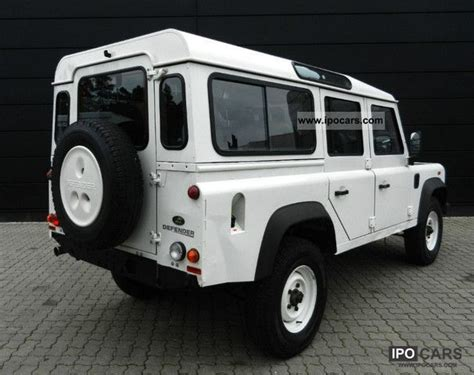 2008 land rover defender 110 station wagon e 7 seater air