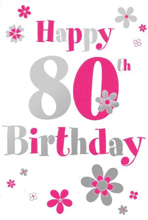 Happy 80th Birthday Card Template by Family Quotes For 80th Birthday Quotesgram