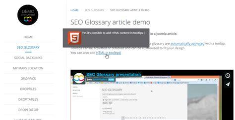 definition theme demo seo glossary dictionary for joomla