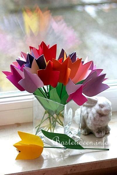 Blüten Aus Papier 2745 by Tulpen Basteln Aus Papier Raum Und M 246 Beldesign Inspiration