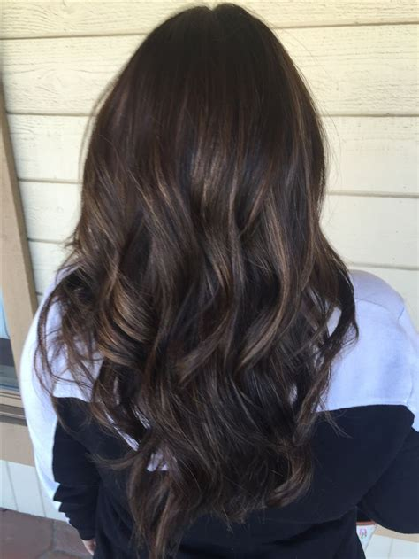 best partial caramel highlights partial caramel highlights for dark hair www pixshark